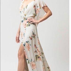 Jenny Yoo- Lavender Size 14 Alanna Printed Dress